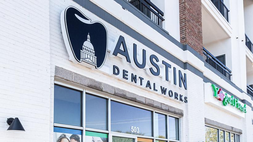 Austin Dental Works Office Front
