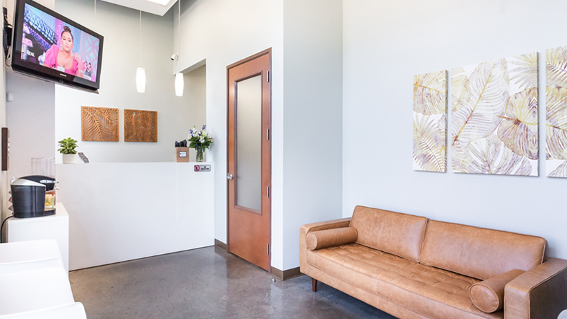 Austin Dental Works Office Waiting and Reception
